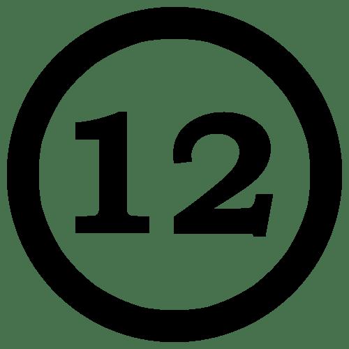 12NumberTwelveInCircle